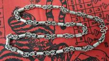 """27 """" Thai Style Stainless Steel Necklace For Hanging Thai Amulet"""