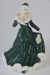 Royal Doulton Classics Wintertime Lady Figurine HN4826 Ltd Rare Limited Edition