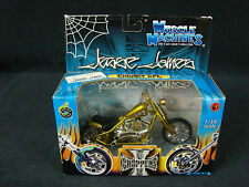West Coast Choppers Muscle Machines Jesse James 1:18 Diecast Cherry CFL NEW 2003