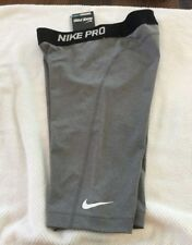 NWT WOMEN'S NIKE PRO TRAINING TIGHTS KNEE LENGTH CHARCOAL SIZE SMALL RETAIL $35