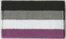 Asexual Pride Flag Embroidered Patch T4