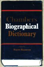 CHAMBERS BIOGRAPHICAL DICTIONARY ~ MAGNUS MAGNUSSON ~ 1993 HC