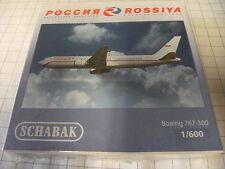 Schabak 1:600 3551588 Boeing 767-300  Rossiya NEU OVP