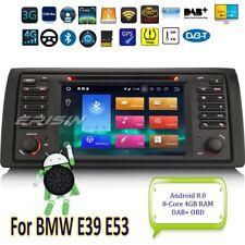 Android 8.0 DAB+BMW E53 Autoradio 5er E39 X5 M5 Navigatore GPS CD DTV TPMS 7453I