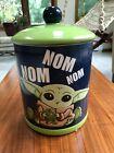 Disney%2B+Star+Wars+Baby+Yoda+Grogu+Cookie+Jar+Ceramic+Nom+Nom+The+Mandalorian+New