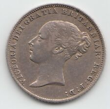 Rare 1863 Silver Sixpence 6d - Victoria