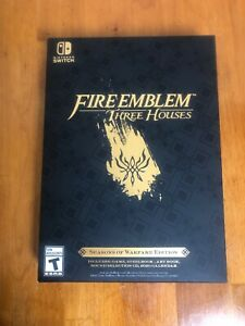 Nintendo Switch Fire Emblem: Three Houses Seasons of Warfare Limited Edition NEW