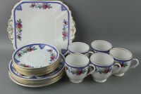 16 Piece Vintage Shelley Berries / Coffee Set