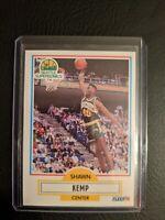 1990 Fleer Shawn Kemp #178 Rookie RC - Seattle Super Sonics GREAT CARD! 🏀