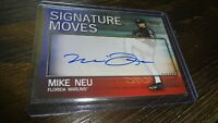 2004 TOPPS SIGNATURE MOVES SM-MN MIKE NEU AUTOGRAPHED BASEBALL CARD