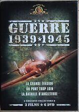 GUERRE 1939/1945  3 FILMS  6DVD