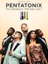 Pentatonix – Ptx Presents: Top Pop, Vol. 1 Music Book-Piano/Vocal/Guitar-N ew!