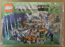 LEGO Minecraft The Mountain Cave - 21137 - New in Sealed Bags - No Box