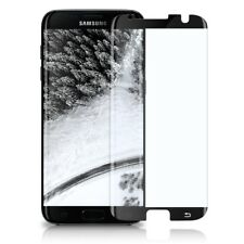 Full Screen Panzer Glasfolie Samsung Galaxy S7 Edge Display Schutz Folie Curved