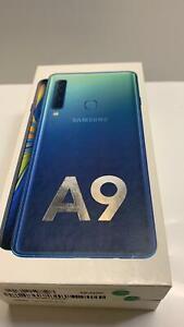 Samsung Galaxy A9 2018 4G Smartphone 128GB Unlocked Sim-Free (Lemonade Blue) B