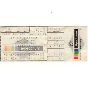THE CURE Concert Ticket Stub PHILADELPHIA PA 5/16/92 SPECTRUM THE WISH TOUR Rare