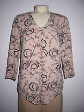 NWT RUTZOU FLORAL ABSTRACT LEAVES GEOMETRIC DRESS TOP S