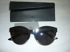 lunette de soleil  Christian Dior + son étui + carte de garantie