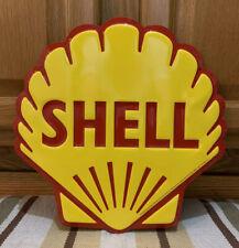 Shell Gas Oil Vintage Style Wall Decor Garage Man Cave Metal Signs Pump Bar Pub