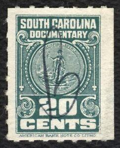 20c South Carolina Documentary, Used [2] ANY 4=