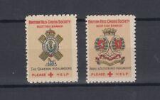 More details for gb red cross cameron argyle sutherland labels cinderella mnh jk5712
