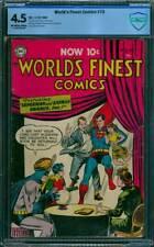 World's Finest Comics # 73  Superman Batman !  CBCS 4.5 scarce Golden Age book !