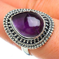 Amethyst 925 Sterling Silver Ring Size 8.25 Ana Co Jewelry R49243F