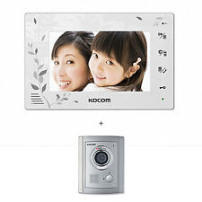 KOCOM KCV-376 Color Video Digital InterPhone KC-C71 DoorCamera Security Intercom