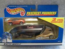 Hotwheels  Pavement Pounders  2 Cool Custom Vehicles  1:64 scale NOC  w-02