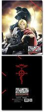 *New* Fullmetal Alchemist Brotherhood Ed & Al Elastic Band Document File Folder
