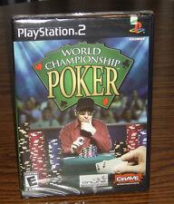 PS2 World Championship Poker – Brand New