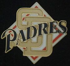 San Diego Padres Pin Badge ~ Logo & Diamond ~ MLB ~ Baseball