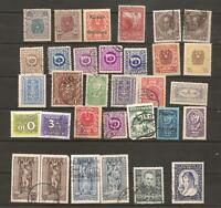 ++ Austria / Osterreich Definitives 1919, Porto / Postage Due Lot Lot#2