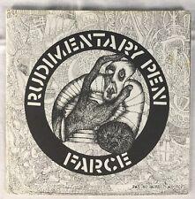 "Rudimentary Peni - Farce 7"" Single Original Rarissimo!!!"