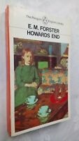 E M FORSTER HOWARDS END 1ST/1 ENGLISH LIBRARY S/B 1983 PENGUIN UNREAD COPY RARE