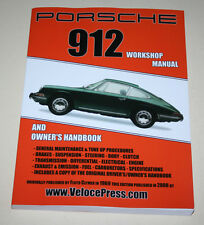 Reparaturanleitung Werkstatthandbuch Porsche 912, Baujahre 1965 - 1969