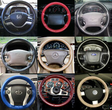 Wheelskins Genuine Leather Steering Wheel Cover for Toyota Land Cruiser