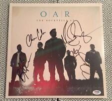 O.A.R. The Rockville LP Vinyl Band Signed Marc Roberge +4 PSA/DNA COA #AC04889