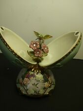 Musical Egg Collectible Heirloom Garden Glory Plays On the Wings with Love