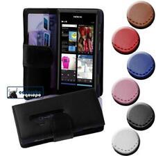 Case for Nokia Lumia 800 Phone Cover Plain Design Wallet Book