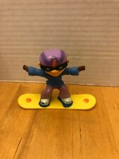 Nickelodeon Rocket Power Otto Rocket Toy Figure Burger King 2002 With Snowboard