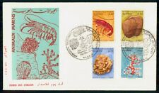 Mayfairstamps Algeria 1970 Animaux Marins Marine Life First Day Cover wwh41013