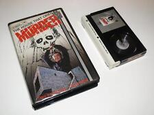 Betamax Video ~ The House That Cried Murder ~ Large Case Ex-Rental Pre-Cert ~VTC