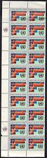 United Nations New York Scott # 165 Block Of 20 Stamps M OG NH