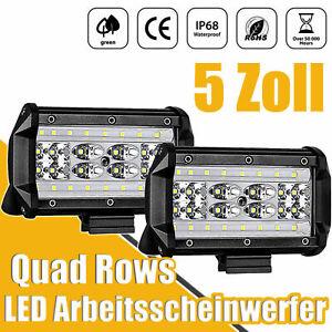 2x 1680W LED Arbeitsscheinwerfer Offroad 5 Zoll Scheinwerfer für Jeep SUV Bagger