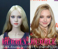 KUMIK Amanda Seyfried 1/6 Scale Head Sculpt For Hot Toy Phicen SHIP FROM USA