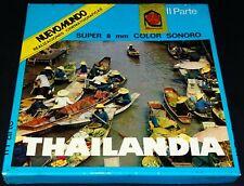 *** FILM SUPER 8 COULEUR SONORE 120 METRES - THAILANDIA PARTIE II ***