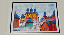 ANATOLE KRASNYANSKY, SILENCE serigraph ~ Signed and Numbered! - SOLD OUT!