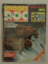 Images Doc n° 49 Le grizzli l'ours Géant d'Amerique