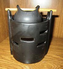 "Duftlampe ""Hexen Kessel""Aromalampe Keramik abnehmbarem Duftkessel Farbe schwarz"